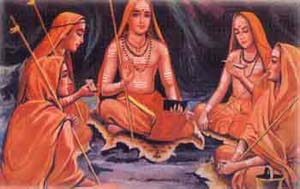 Shankara and his four disciples